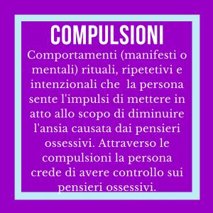 i sintomi del disturbo ossessivo-compulsivo